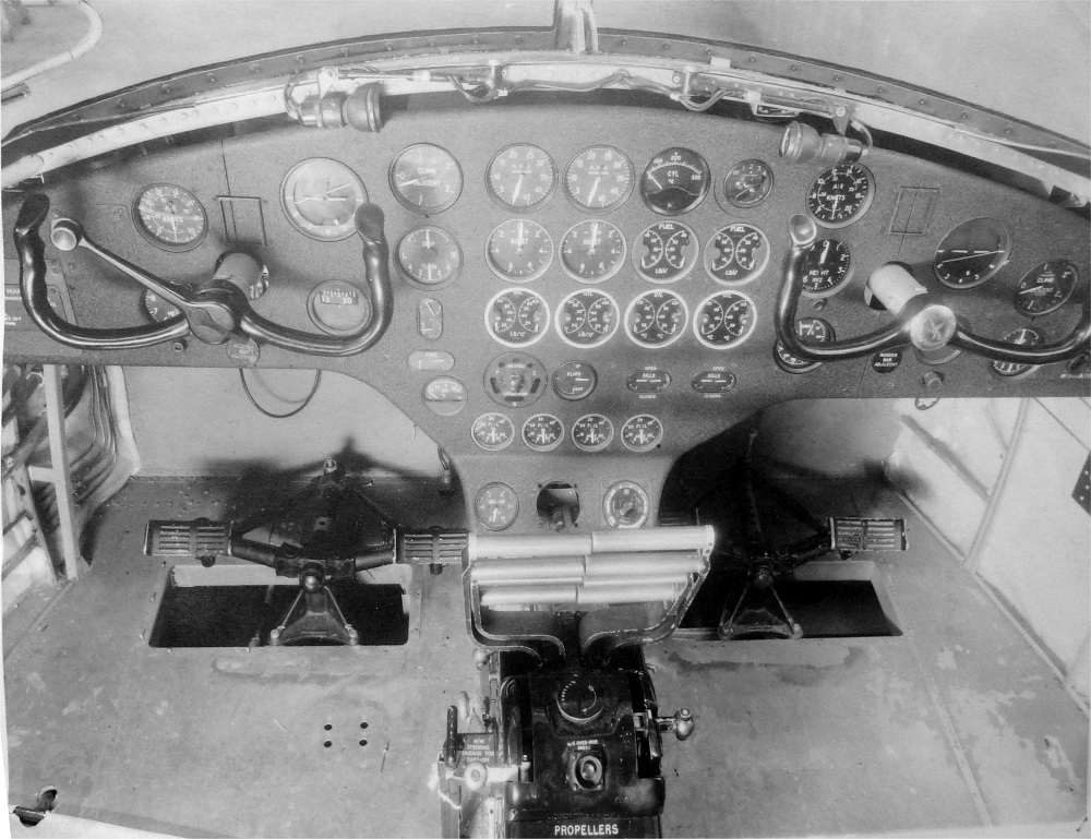 Marathon prototype instrument panel